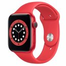 Apple Watch Series 6 40mm PRODUCT(RED) Aluminium Case with PRODUCT(RED) Sport Band - Regular